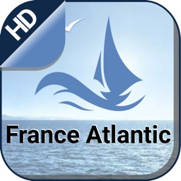 France Atlantic gps Nautical offline fishing chart