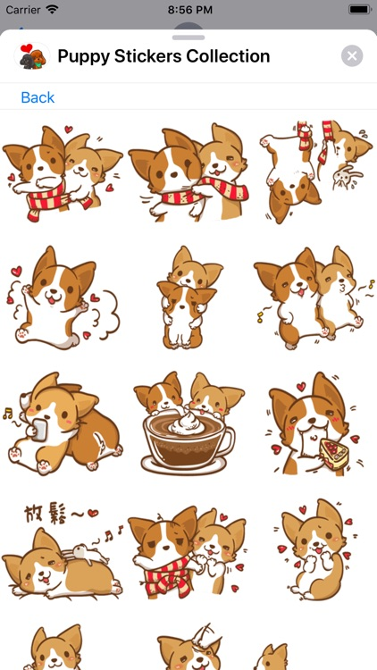 Puppy Stickers Collection