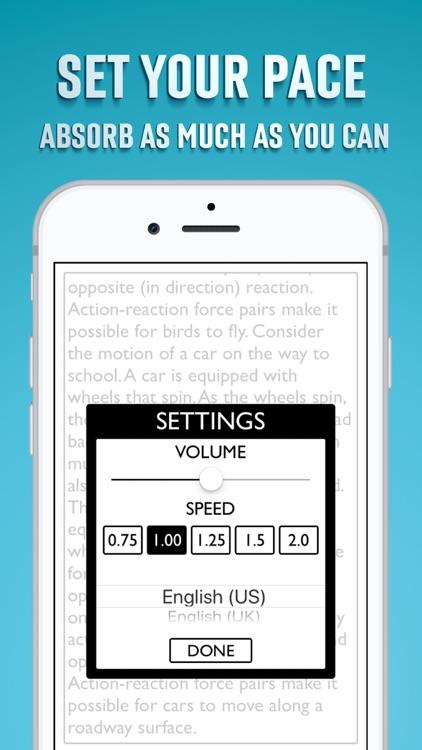 Text to Speech App screenshot-9