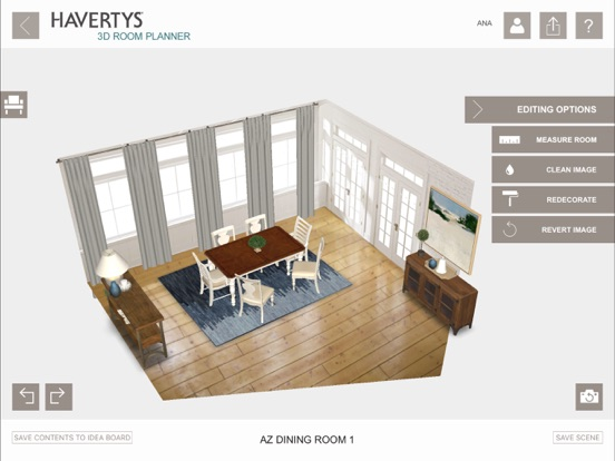 ... Screenshot #5 For Havertys 3D Room Planner