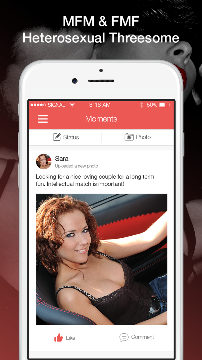3Somer: Threesome Swingers App Screenshot