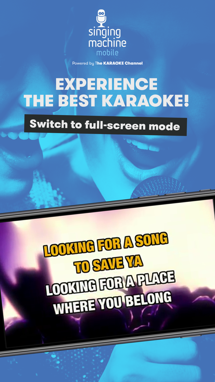 Singing Machine Mobile Karaoke Screenshot
