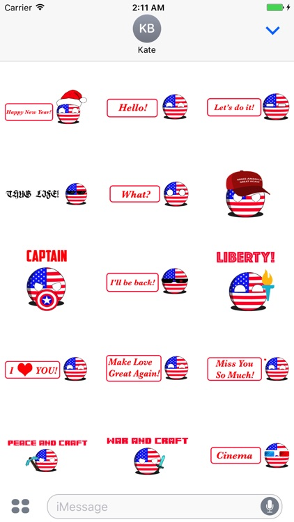 CountryBalls - USA screenshot-0