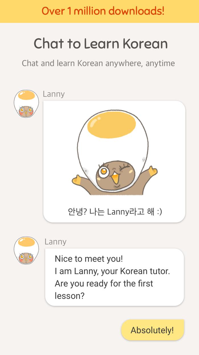Eggbun: Chat to Learn Korean Screenshot