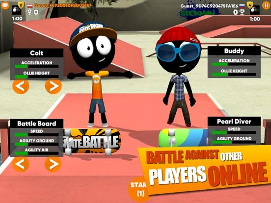 Screenshot #4 for Stickman Skate Battle