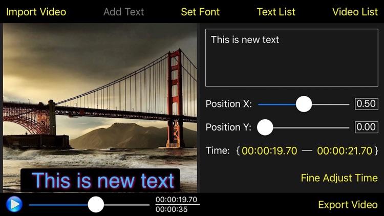 Video Subtitle Edit Pro - Video Text Editor