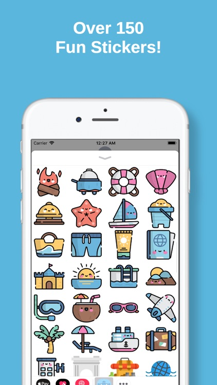 Travel Stickers for iMessage screenshot-1