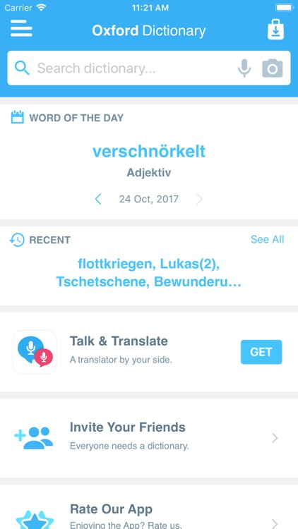 Conc. Oxford German Dictionary screenshot-2