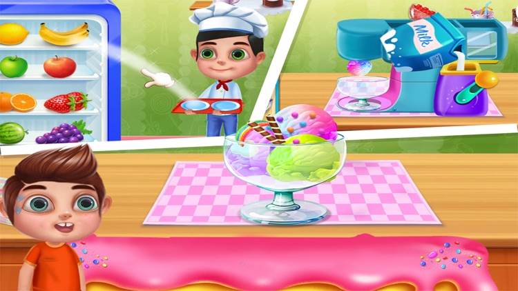 Ice Cream Popsicles Smoothies screenshot-3