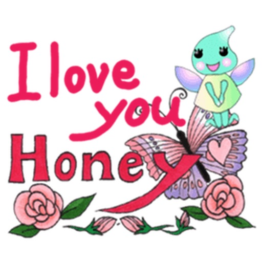Lovely Butterfly Fairy Sticker