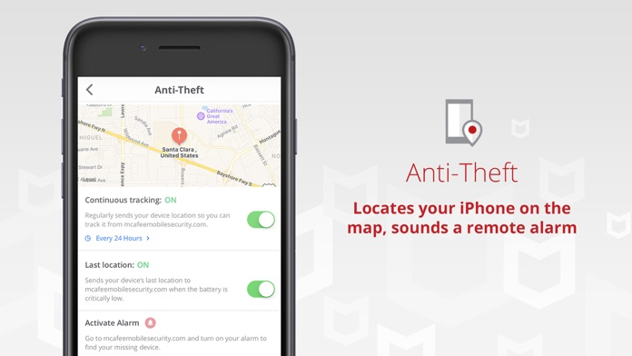 Mobile Security & Wifi Scan Screenshot