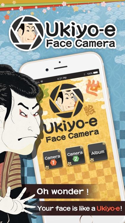 Ukiyo-e Face Camera