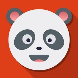 Lovely  Panda Emojis