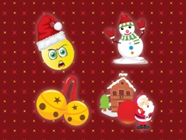 Holiday Emoji has tons of emojis for holiday season