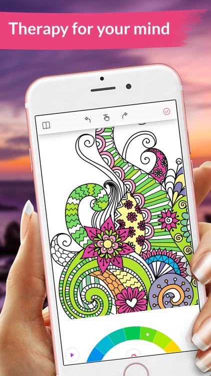 Colorgram Video coloring book screenshot-4