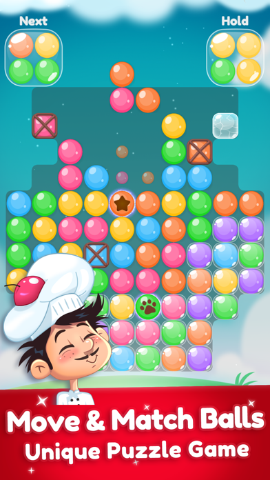 Super Candy Ball - Color Clash screenshot one