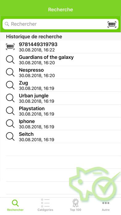 Screenshot #1 pour Shopping Suisse