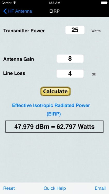 HF Beam Antenna Calculator screenshot-3