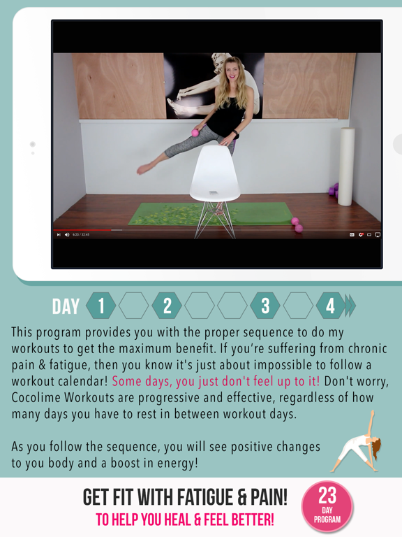 Fibromyalgia & Fatigue Fitness screenshot 11