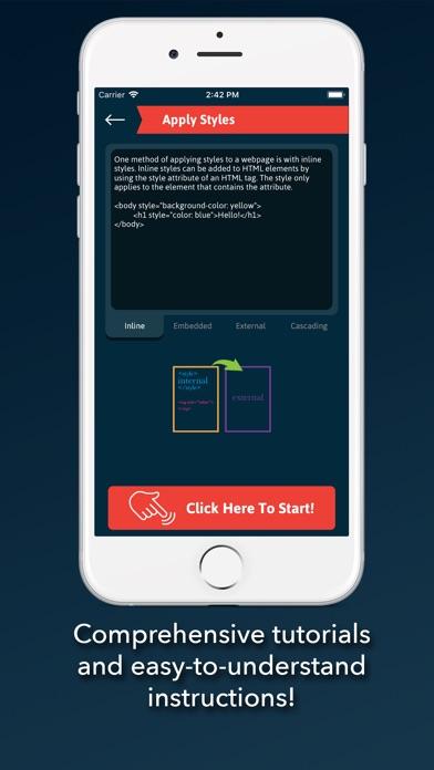 L2Code CSS Screenshot 2