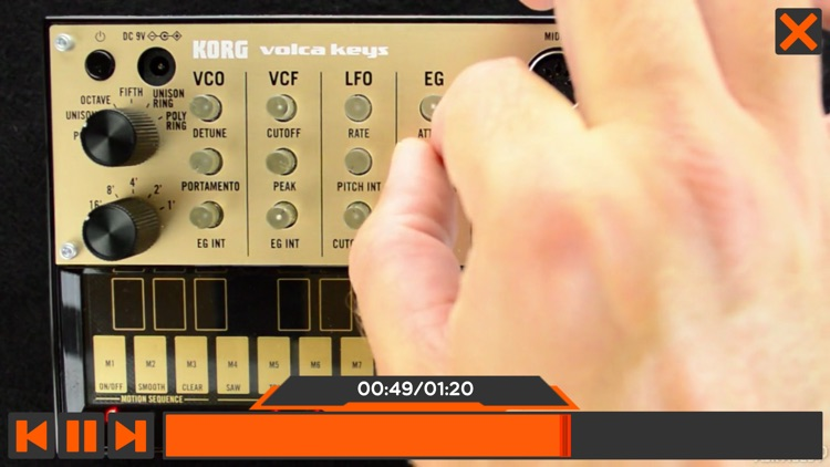 Course For volca keys Explored screenshot-3