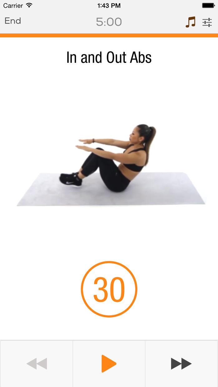 Ab & Core Workouts Screenshot