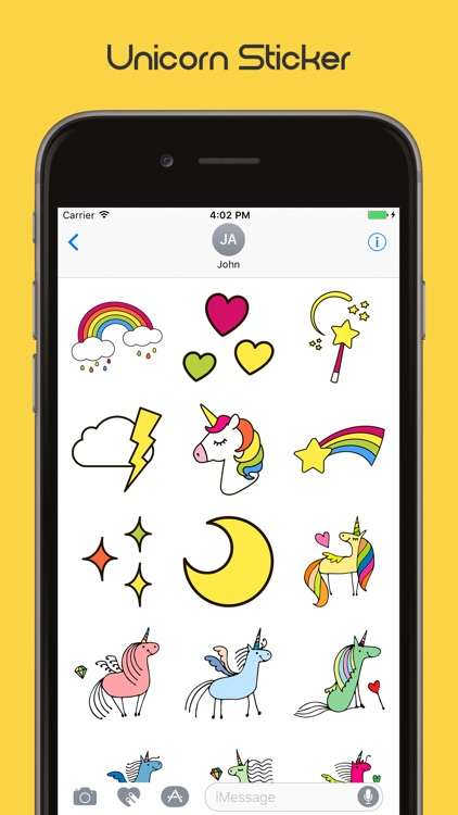 Unicorn Stickers Sweet screenshot-3