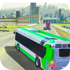 Activities of City Bus Transporter Driving