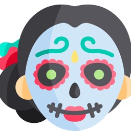 Stickers Día De Muertos