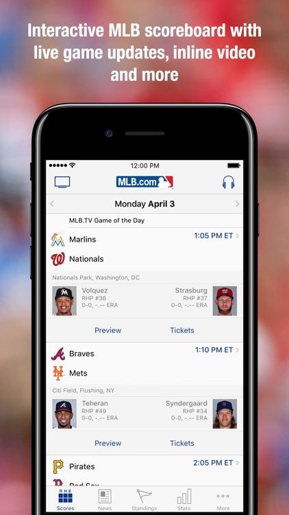 MLB.com At Bat screenshot-3