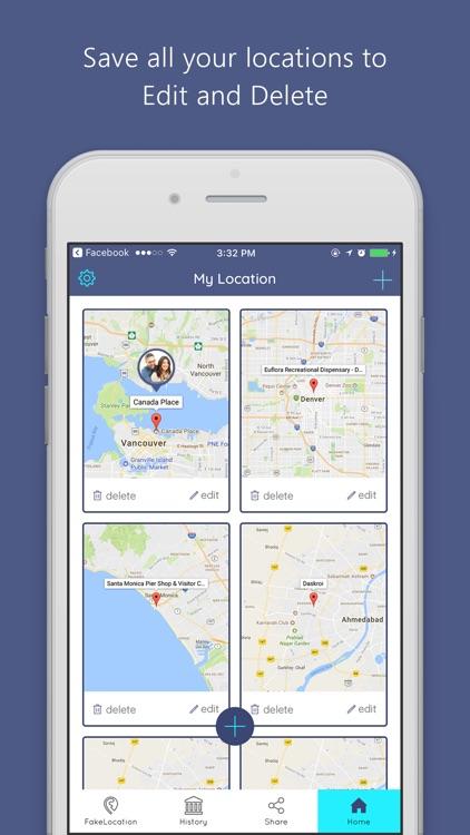Fake GPS Location - for iPhone screenshot-3