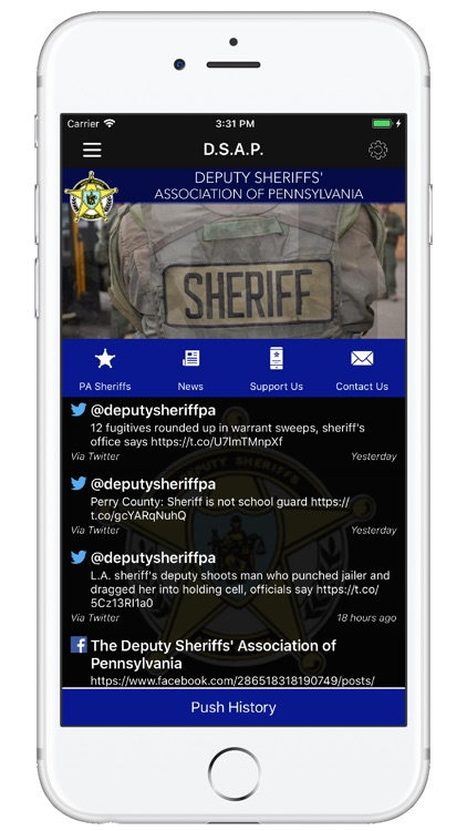 Deputy Sheriffs Assoc of PA by Deputy Sheriffs Association