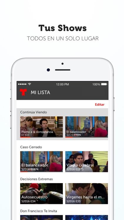 Telemundo Now screenshot-4