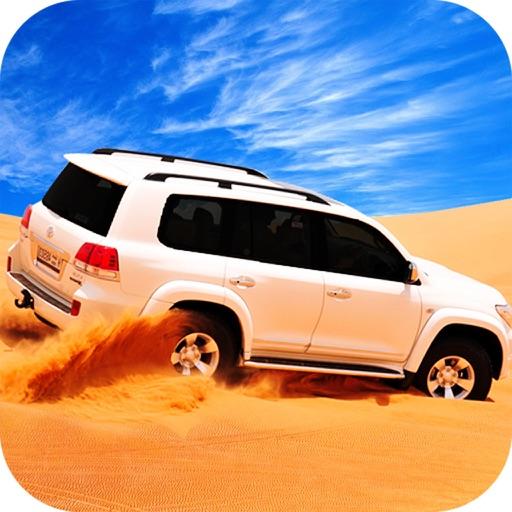 Desert Car Offroad Rally Race