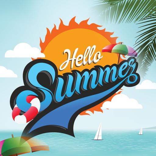 Hello Summer Stickers!