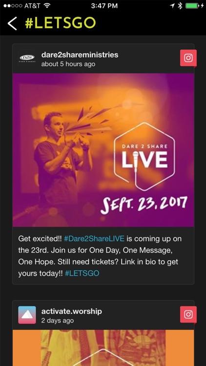 Dare2Share Live