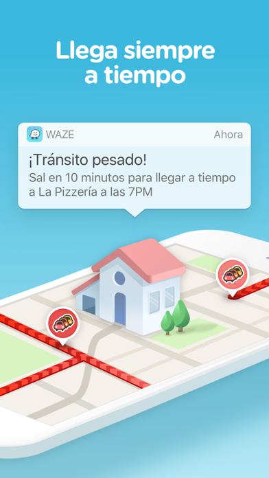 Screenshot for Waze Navegación y Tráfico in Peru App Store