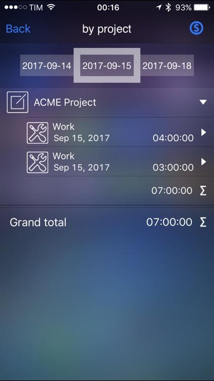 Live Time - Time Tracker screenshot-3