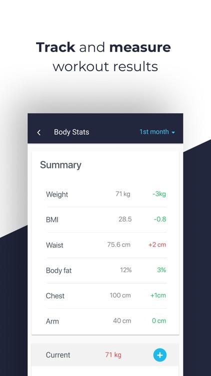 Gym Workout + Weight lifting screenshot-4