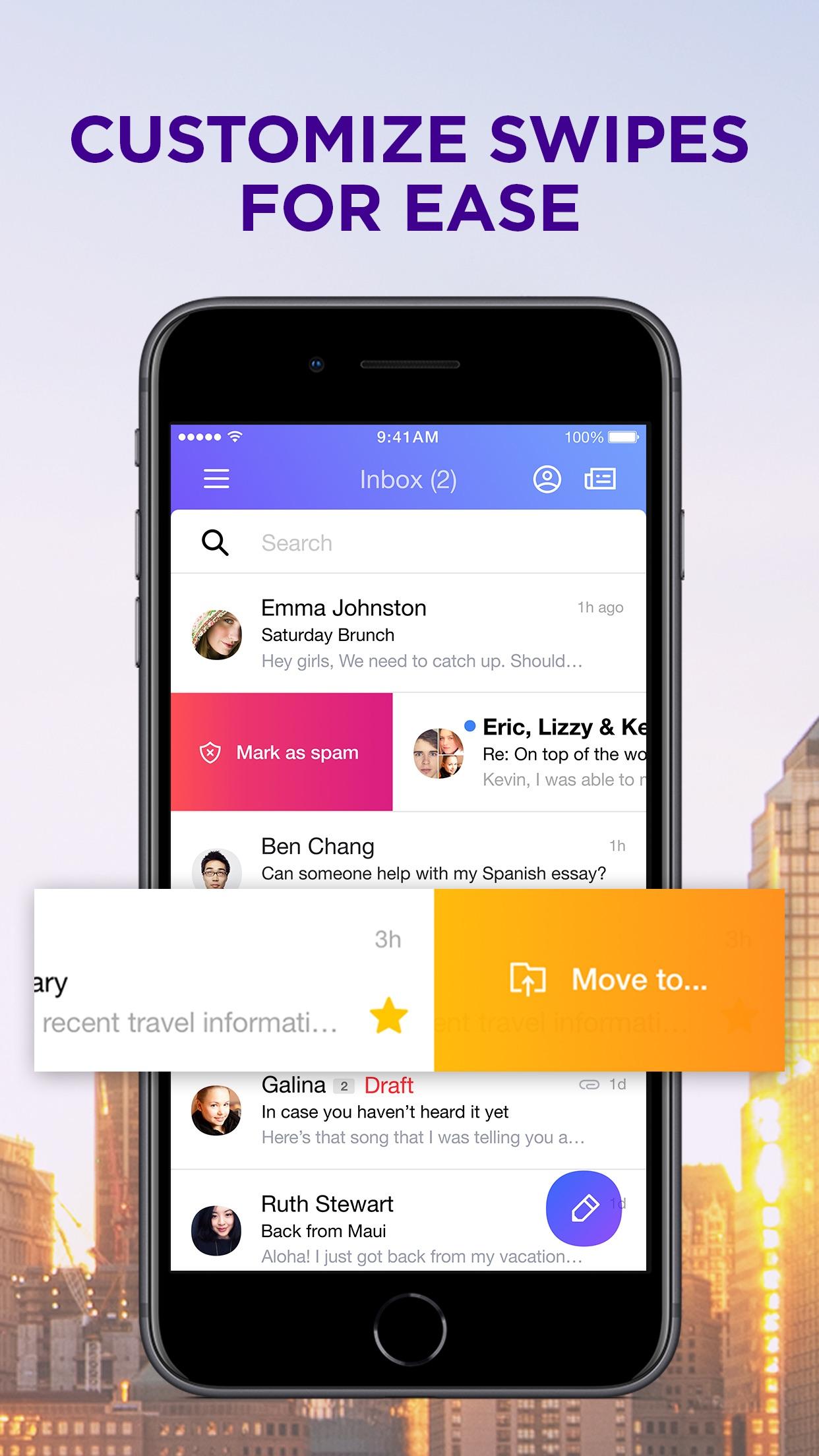 Yahoo Mail - Stay Organized Screenshot