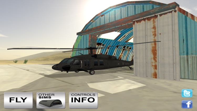 Black Hawk 3D Flight Simulator screenshot-3