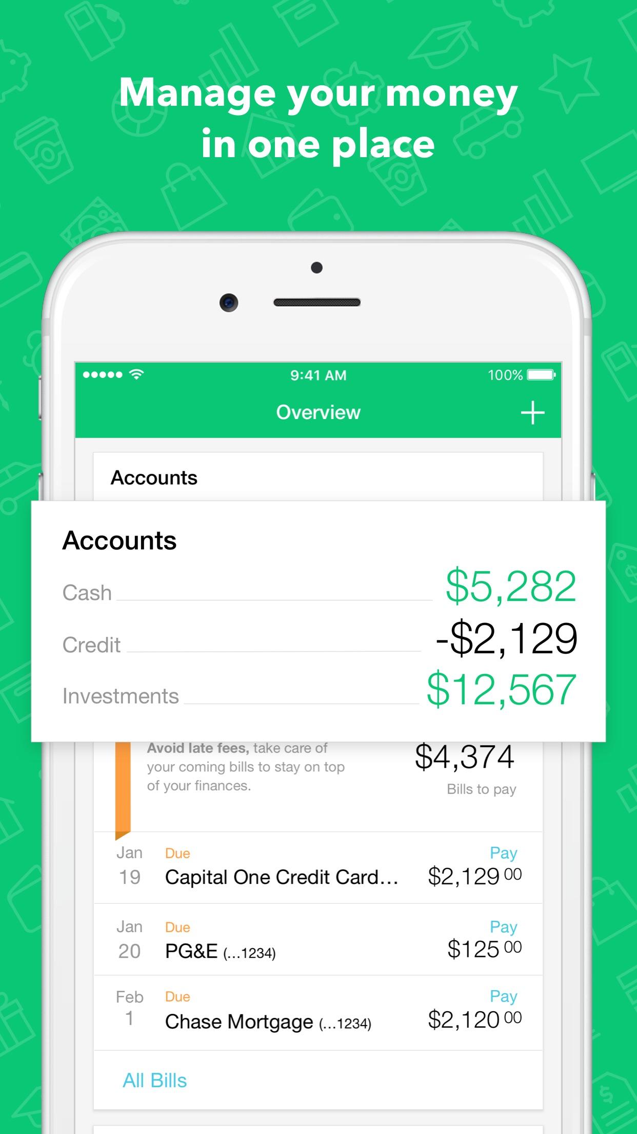 Mint:Personal Finance & Money Screenshot
