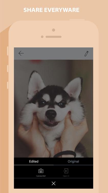 QuickCam - Photo Editor screenshot-4
