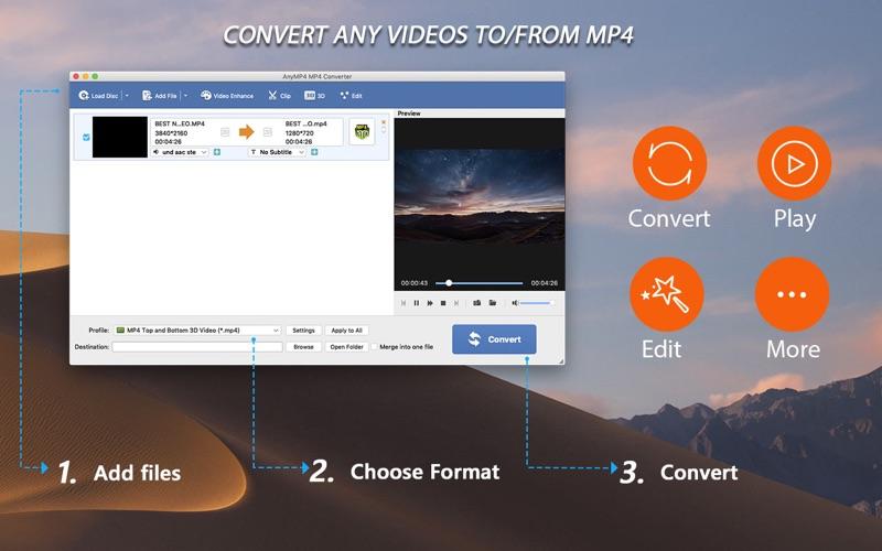 Screenshot #1 for AnyMP4 MP4 Converter