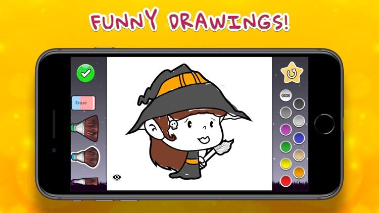 Coloring Your Halloween screenshot-0