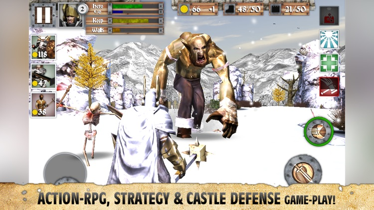 Heroes and Castles Premium screenshot-1