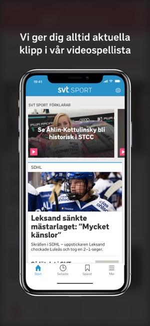 SVT Sport i App Store ff5d6322ea7c8