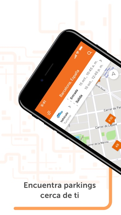 Screenshot for Parclick - Encontrar Parkings in Ecuador App Store
