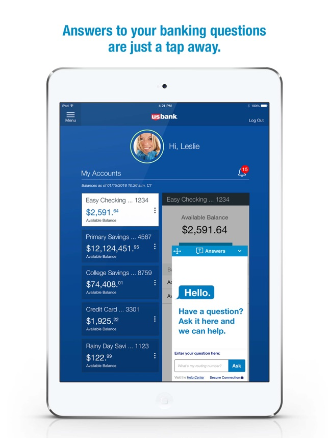 U.S. Bank (TM) on the App Store