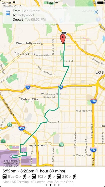 Transit Tracker - Los Angeles screenshot-3